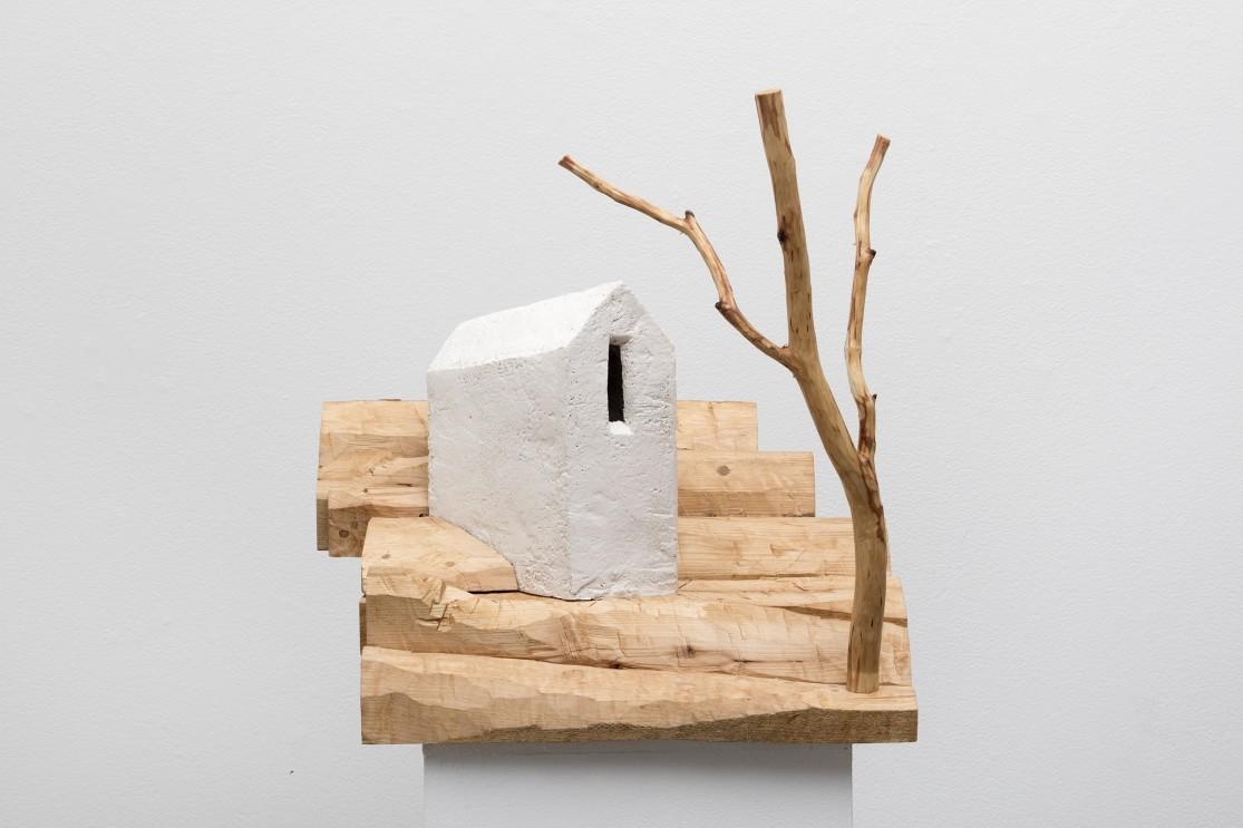 Talo ja puu Modiglianin mukaan